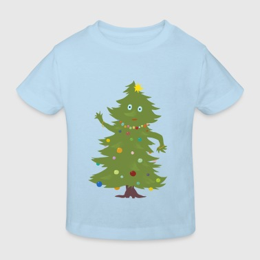 Christmas Tree - Kinderen Bio-T-shirt