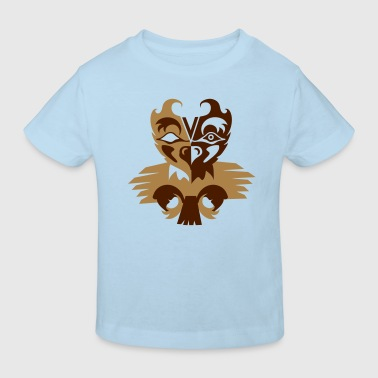 Indian eagle symbol - Kids' Organic T-Shirt