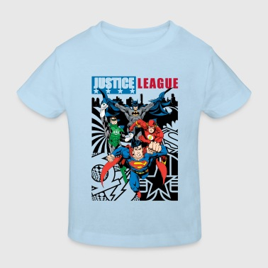DC Comics Justice League Comic Cover - Kinder Bio-T-Shirt