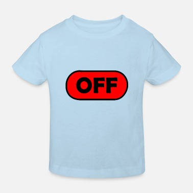 Off off / aus - Kinder Bio T-Shirt