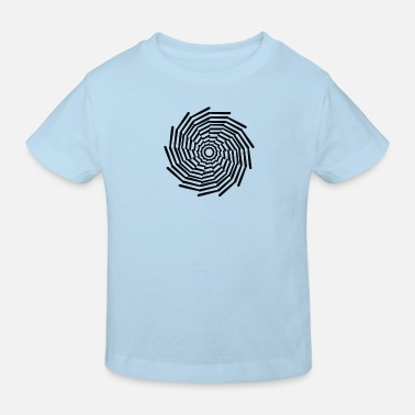 Circle, circle, art - Kids' Organic T-Shirt