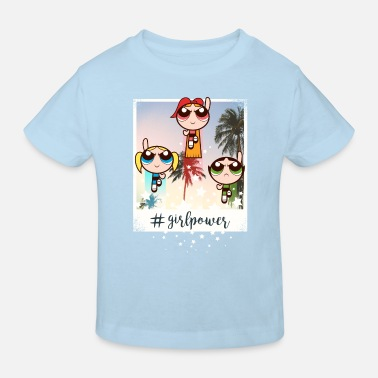 Powerpuff Girls Girlpower - Kinderen bio T-shirt