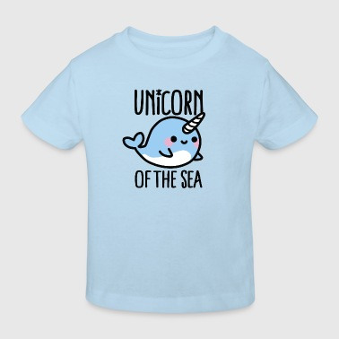 Unicorn of the sea - Kinder Bio-T-Shirt