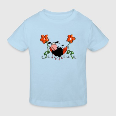 Hammock sheep - Kids' Organic T-Shirt