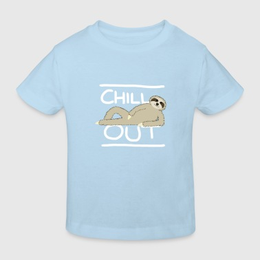 Sloth Chill Out - Kids' Organic T-shirt