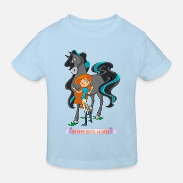 Horseland Zoey & Pepper Pose - Kinder Bio T-Shirt