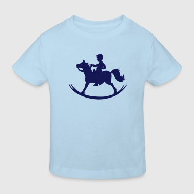 Rocking Horse - Boy - Kinder Bio-T-Shirt