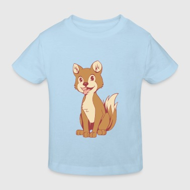 Comic Dog - Kinderen Bio-T-shirt