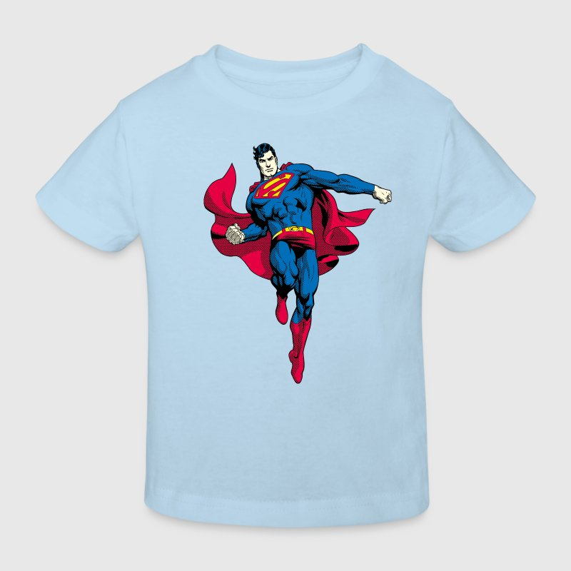 Superman Pose Tee shirt Ado - T-shirt bio Enfant
