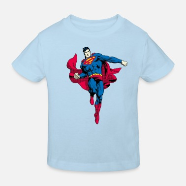 Superman Pose Teenager T-Shirt - Kinderen bio T-shirt