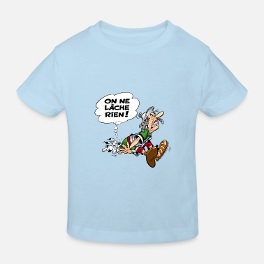 Asterix & Obelix We never give up! - Kids' Organic T-Shirt