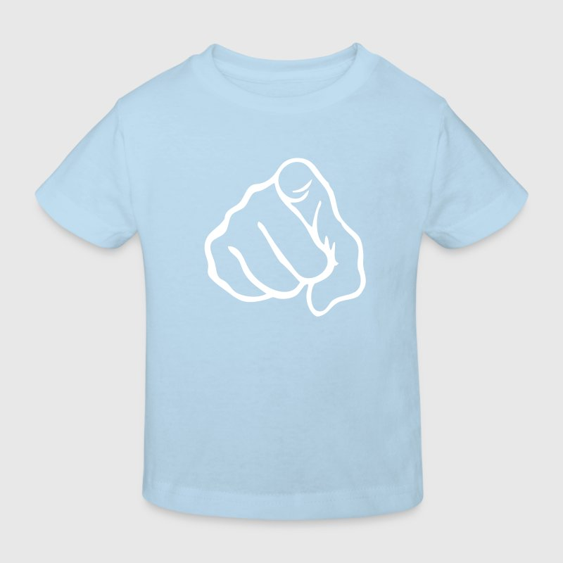 doigt pointe24 index - T-shirt bio Enfant