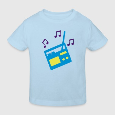 Radio - Kinder Bio-T-Shirt