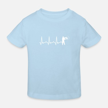 Environmental Protection BEEKEEPER HEARTBEAT EKG Heartbeat beekeeping beekeeping - Kids' Organic T-Shirt