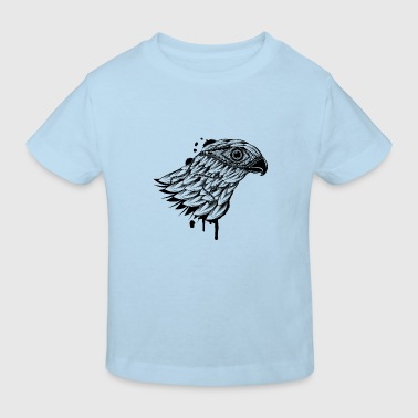 head of a falcon - Kids' Organic T-Shirt