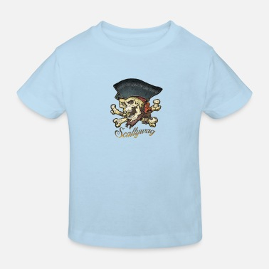 Pirate - Fiend - Skull - Kids' Organic T-Shirt