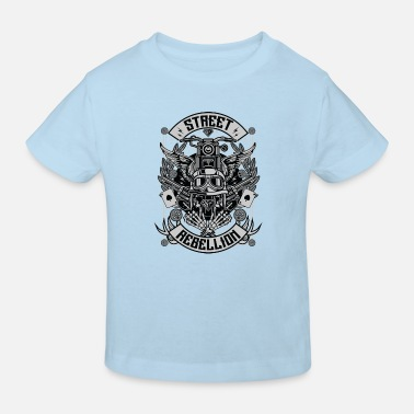 Militaria Street Rebellion - Kids' Organic T-Shirt