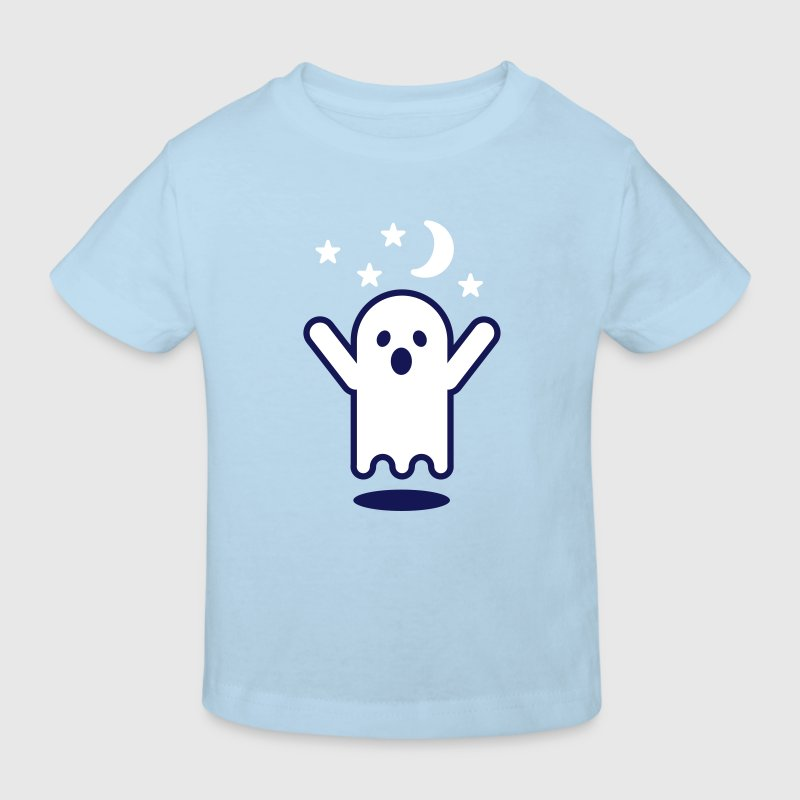 Glow in the dark ghost - Ekologisk T-shirt barn