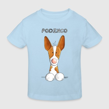 Happy Podenco Canario - Kids' Organic T-shirt