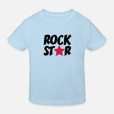 Rock Star rock star - Kinder Bio T-Shirt