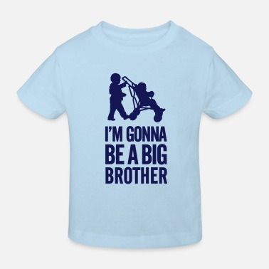 Hermano Mayor I'm gonna be a big brother baby car - Camiseta ecológica niño