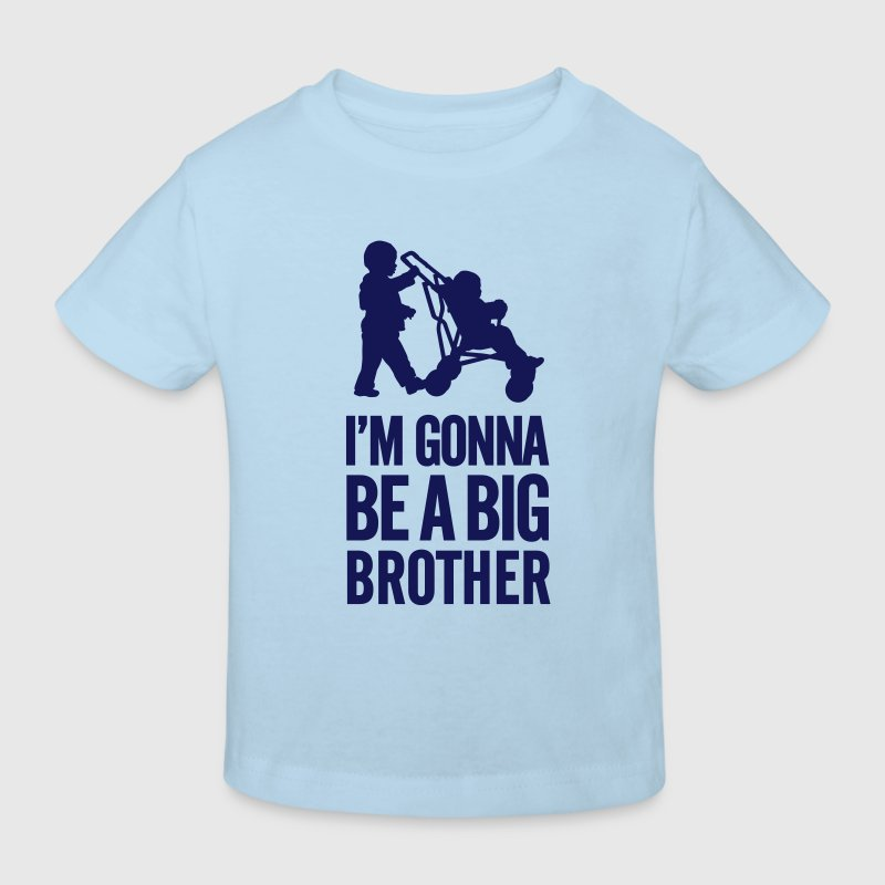 I'm gonna be a big brother baby car - Kinder Bio-T-Shirt