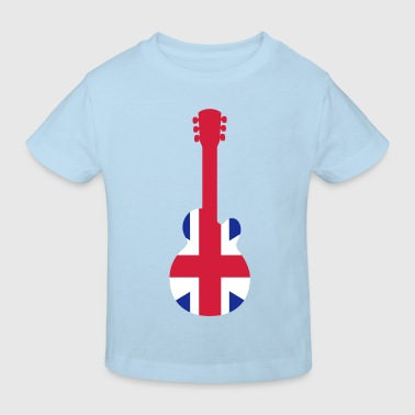 British Guitar - Kinderen Bio-T-shirt