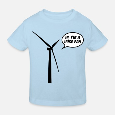 Metal Huge Fan - Kinderen Bio-T-shirt