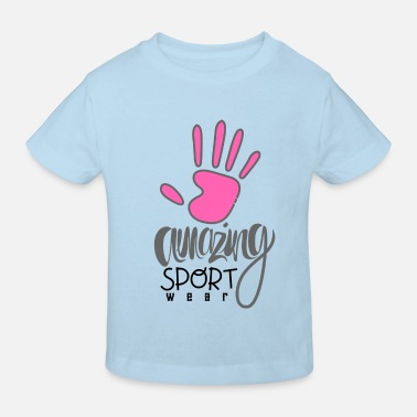 Amazing Sport Wear Urban Fashion - Kids' Organic T-Shirt