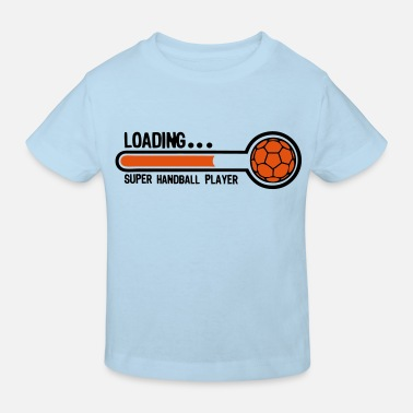 Handball handball loading super player1 - T-shirt bio Enfant