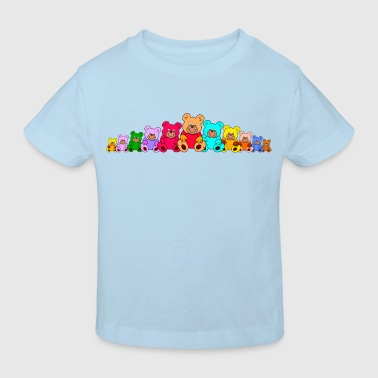 Teddy bears / teddies / teddys - Kids' Organic T-Shirt