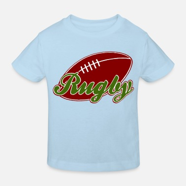 Rugby rugby - Kids' Organic T-Shirt
