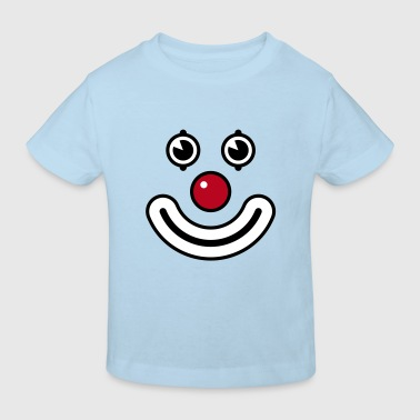 Clown / Payaso / Bouffon / Buffone - Kinder Bio-T-Shirt