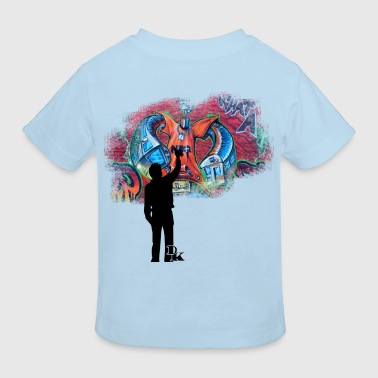 graffiti is art - Kids' Organic T-Shirt