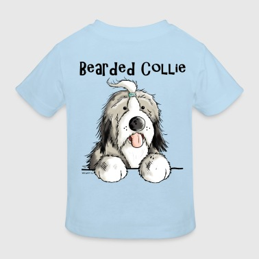 Mignon Bearded Collie - T-shirt bio Enfant