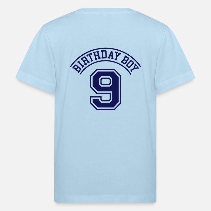 9 Birthday T Shirts