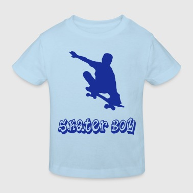 skater boy graffiti style - Kinder Bio-T-Shirt
