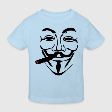 anonymous masque mask cigare1 - T-shirt bio Enfant