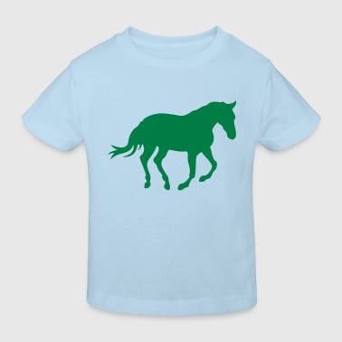 cheval horse silhouette ombre shadow6 - T-shirt bio Enfant