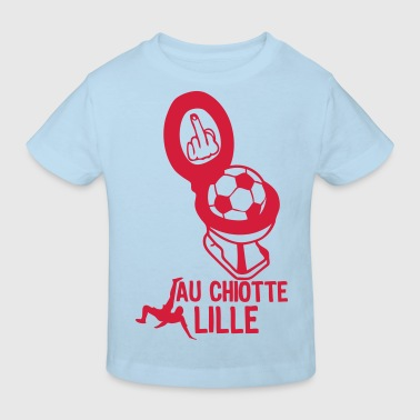 chiotte lille football non supporter - T-shirt bio Enfant