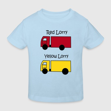 Red Lorry Yellow Lorry - Kids' Organic T-shirt