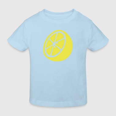 lemon - orange - Kids' Organic T-shirt