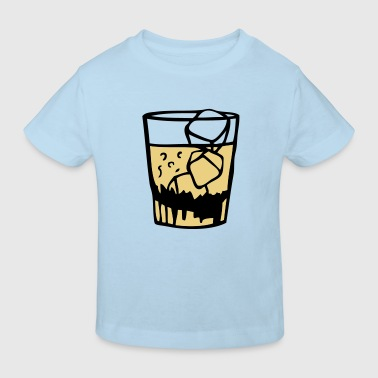 verre glass apero whisky drink3 - T-shirt bio Enfant