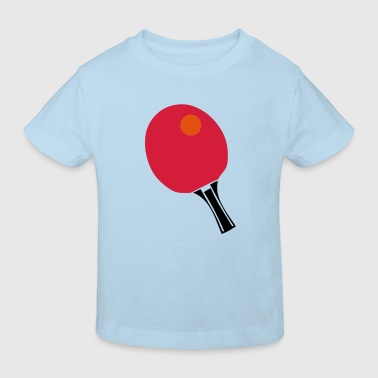 raquette tennistable pingpong racket ball - T-shirt bio Enfant