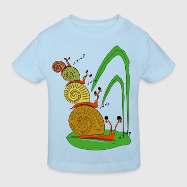 escargot - T-shirt bio Enfant