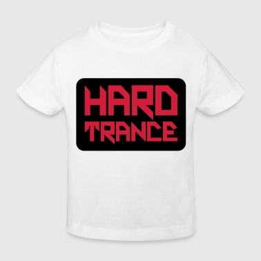 Hard Trance Square - Kids' Organic T-shirt