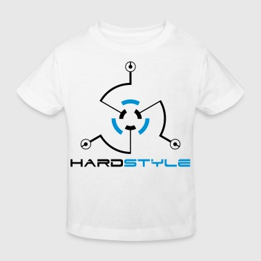Hardstyle Tech 2 Rave Quote - Kinderen Bio-T-shirt