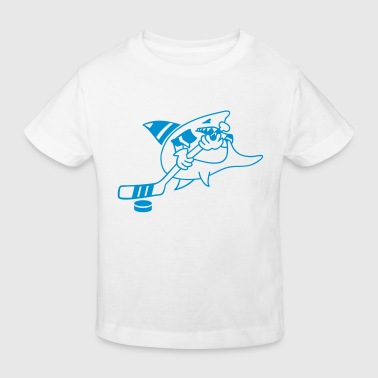 requin de hockey / hockey shark (1c) - T-shirt bio Enfant