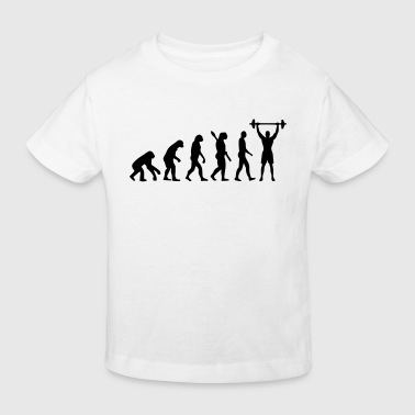 GYMNASTICS EVOLUTION! - Kids' Organic T-shirt