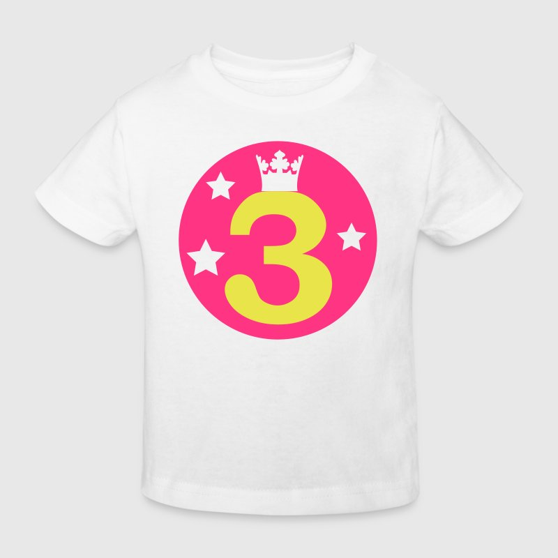 I am 3 years old! - Kids' Organic T-shirt